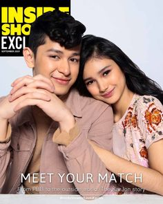 The KarJon Story on Inside Showbiz: Meeting Your Match Miss Independent, Poll Results, Jadine, Grow Together, First Tv, The Big Four, Meet You, The Dreamers, The Outsiders
