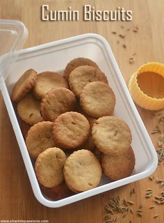 Cumin Biscuits Recipe