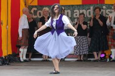 Dance Scotland are a dance group that performs Scottish Country Dancing. Photo by Matthew Donnachie.