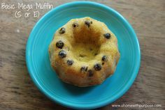 Basic Mega Muffin~  THM S, FP or E..you choose which fuel.  This can also be a FP, even though I forgot to add that in this picture. :)  Sugar free, Gluten Free