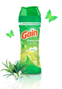 Shasher's Life: Win this Scentsational Smellebration of Gain Laundry Detergent! #PGmom