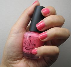 OPI Elephantastic Pink! nothing can get more Barbie than this polish! ADORE!
