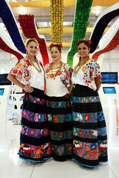 Trajes tipicos de Guerrero Gro. México. Esta falda!!!
