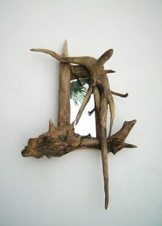 driftwood mirror | harry chaney | Flickr