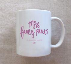 Miss Fancy Pants Mug