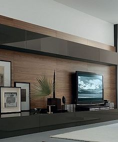 Living Room Wall Unit System Designs Part 44