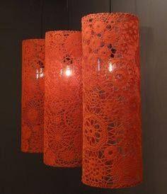 Iluminação - decoração - faça voce mesma - reciclagem        ♪ ♪ ...  Inspiração #croche #trico #reciclagem #façavocemesma PD http://precisodesabafar.queroforum.net/