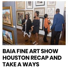 While the show featured strong selections of work by artists of historical significance ie. Elizabeth Catlett, Richard Hunt, Benny Andrews, Richard Mayhew, Dr. Samella Lewis and Gordon Parks, it was the contemporary artists whose work sold at record pace. More at blackartinamerica.com