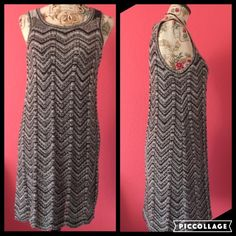 Chenille knit tank dress, Kensie Chenille knit tank dress. Great with just a slip underneath, tank top or long/short sleeved blouse. Perfect versatile dress for any wardrobe. Soft and stretchy fit. Worn once. In like-new condition! Perfect for any season! Kensie Dresses Midi