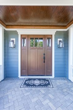 Gorgeous Wheaton, IL Home Front Entry, Entry Doors, Garage Doors, Colors, Outdoor Decor, Beautiful, Home Decor, Decoration Home, Entrance Doors