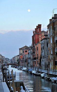 Venice Moon.. Veneto, Italy | by Saffron Blaze