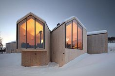Split View Mountain Lodge. Reiulf Ramstad Arkitekter