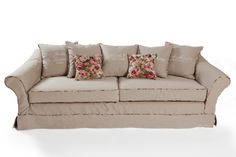 €2399,- Kensington Garden Sofa 3,5-seater #living #interior #rivieramaison