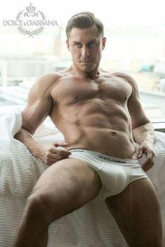 Classic White Briefs | #Guys #Underwear #Model #Fashion
