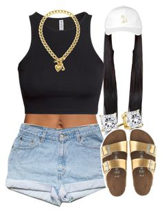 """Untitled #1300"" by lulu-foreva ❤ liked on Polyvore featuring October's Very Own, H&M, Juicy Couture and J.Crew"