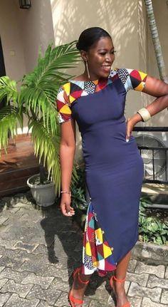 Ideas on modern african fashion 249 African Fashion Ankara, African Fashion Designers, African Inspired Fashion, African Print Dresses, Africa Fashion, African Dress, Ankara Dress, African Lace, African Style