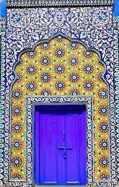 #BLUE #Door #portal