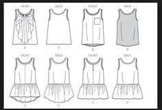 """Convert """"Tiny Pocket T"""" pattern into this ...variations"""