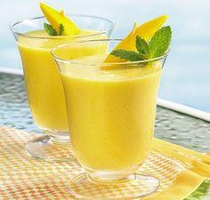 El Rincón De Chuchi: Batido de mango y melón