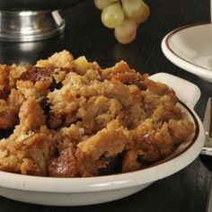 One of the most popular old time favorites is for bread pudding.  We are giving you a very easy crock pot recipe that you just prepare, turn on low and enjoy when ready.