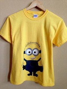 DIY Minion t-shirt... Ferb, I know what we're doin' today!