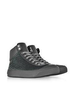 Jimmy Choo Herren Argylewev172dust Grau Leder Hi Top Sneakers  Amazon.de   Schuhe   6ab76d2c14