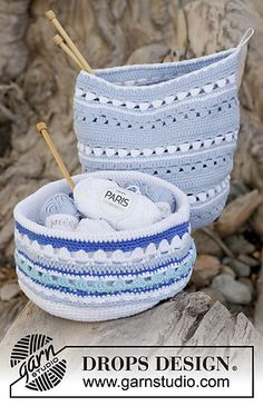 39-2_medium...Sea Treasure... There is a free pattern for these pretty containers!!