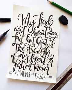 #calligraphy #typography #christian #bibleverse #brushcallighraphy #watercolor #lettering