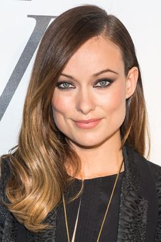 Pretty Hairstyles for Square Faces: Olivia Wilde