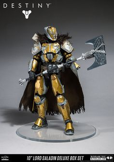 New McFarlane Toys Destiny Figure Images Including The Deluxe Lord Saladin Destiny Toys, Destiny Game, Titan Armor, Character Concept, Character Design, Jedi Cosplay, Weapon Concept Art, Armor Concept, Design Inspiration