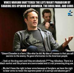 I knew I always liked Vince