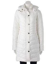 Tek Gear Women's Long Quilted Packable Puffer Jacket Asst Sizes NEW/NWT $160 RET #TekGear #Puffer