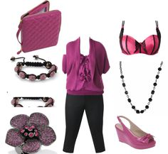 Lane Bryant - Curvy Girl Fashion ( love this color and the shirt )