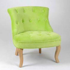 Green Velvet Armchair  available on Wysada.com