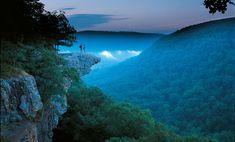 One of Arkansas's most recognized landmarks, Whitaker Point