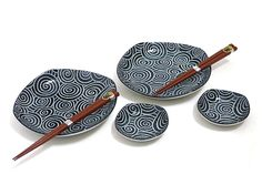Dancing Wave Sushi Set for Two
