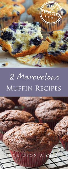 8 Marvelous Muffins For Breakfast or Anytime - Once Upon a Chef - Kristen Drake Bread Recipes Muffin Recipes, Brunch Recipes, Sweet Recipes, Breakfast Recipes, Dessert Recipes, Potato Recipes, Drink Recipes, Healthy Recipes, Best Blueberry Muffins