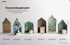 Mini labo + the Collection  Elle Décoration Avril 2014