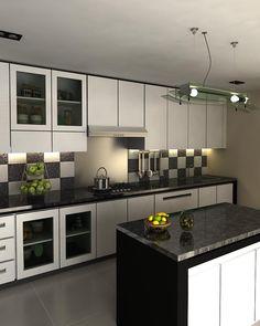 interior dapur kitchen set minimalis - Eksterior, Interior, Furnitur ...