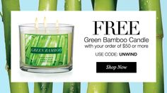 Make Up & The Tomboy: Free candle!!!  Not to mention another amazing deal!