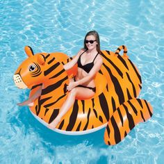 Pool Rafts & Inflatable Ride-ons Toys & Hobbies Earnest 220cm Giant Inflatable Parrot Women Pool Float Adults Children Summer Water Fun Toys Beach Plaything Party Sypply Boia Piscina