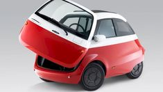 Inspired by the adorable BMW Isetta from the this small, eye-catching electric city car looks unlike anything else on the market, and will soon be available for purchase. The two-seater Microlino meassures a mere meters feet) long, and Bmw Isetta, Nissan Leaf, Kia Soul, Ford Trucks, Bmw I3, Volkswagen, Automobile, Most Popular Cars, Microcar