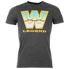Wwe Wwf Legend Retro Officially Licensed Various Sizes T-Shirt Mens Tee Shirts, T Shirt, Wwe, Brand New, Adidas, Unisex, Retro, Shopping, Tops