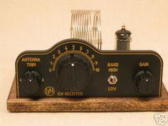 Sw one tube regen radio receiver crystal clear