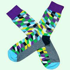 Purple And Black, Green And Grey, Multi Coloured Socks, Brown Socks, Bamboo Socks, Cotton Socks, Color Mixing, Calves, Light Blue