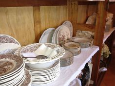 CasaTintoria  Shabby Chich Shabby, Plates, Tableware, Kitchen, Home, Licence Plates, Dishes, Dinnerware, Cooking