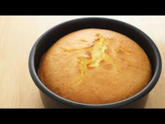 Orange Sponge Cake|Apron - YouTube Paris Brest Gateau, Orange Recipes, Sweet Recipes, Orange Sponge Cake, Sponge Cake Recipes, Pastry Cake, Cake Flour, Cake Tins, Sweet Cakes
