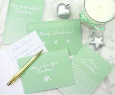 Weihnachtskarten für deine Lieben auf Douglas.de ♥  Chritsmas Cards for your loved ones from Douglas.