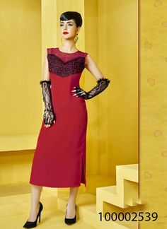 Red color Kurti-  #fashion #womenfashion #treandyfashion #style #lovefashion #trends