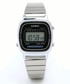 Casio watch...always reminds me of my Grandad.